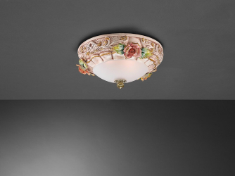 La Lampada PL 1206/2.26 Ceramic Antique